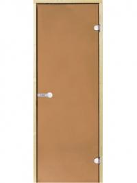 HARVIA Двери стеклянные, бронза, для сауны