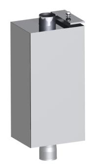 Бак на трубе (Самоварного типа) 80 л.