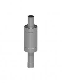 Теплообменник на трубе (Самоварного типа) 12л