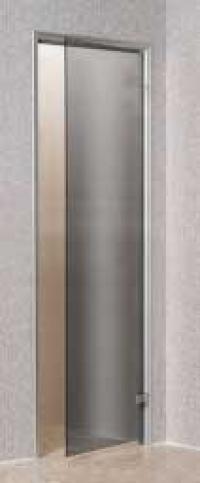 Дверь стеклянная «серая»