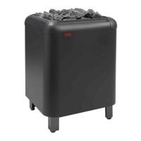 HELO Электрическая печь напольной установки LAAVA