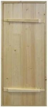 Дверь материал сосна