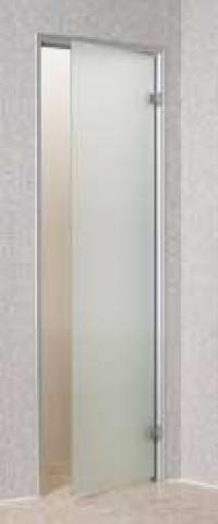 Дверь стеклянная «сатин»