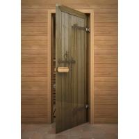 Дверь стеклянная с полноцветным рисунком Дверь дерево