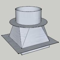 Переход с квадратного(прямоугольного) сечения