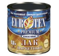 Evrotex - Премиум (лак паркетный) полуматовый 0,8
