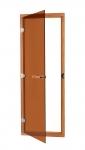 SAWO Дверь 730 - 4SGА, 690мм х 1890мм Бронза с порогом