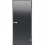 HARVIA Двери стеклянные, серая, размеры 7х19, 8x19, 8x21, 9x19, 9x21