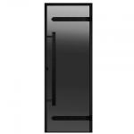 HARVIA Двери стеклянные LEGEND, серая, размеры 7х19, 8x19, 8x21, 9x19, 9x21