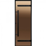 HARVIA Двери стеклянные LEGEND, бронза, размеры 7х19, 8x19, 8x21, 9x19, 9x21